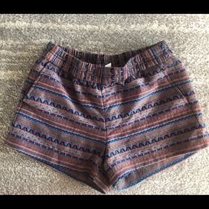 J.Crew Factory shorts patterned